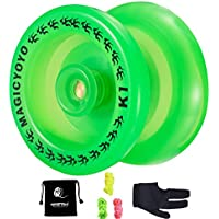 Responsive YoYo K1 Plus Grow Professional Yoyo with Yoyo Sack + 3 Strings +Yo-Yo Glove