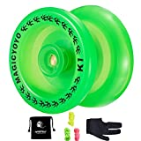 Responsive YoYo K1 Plus Grow Professional Yoyo with Yoyo Sack + 3 Strings +Yo-Yo Glove