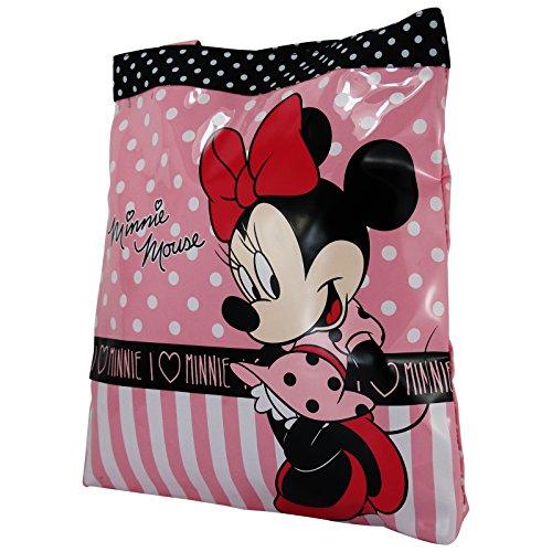 Disney Minnie Sac pour Femme à l'épaule Shopping Shopper Tote