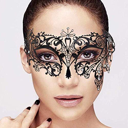 Masken Venezianische,Masquerade Masks Frauen Mädchen Maskenspiel Venetian Gesichtsmask für Weihnachten Halloween Party