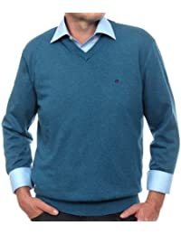 CASAMODA Pull-over Col V Manches longues Homme
