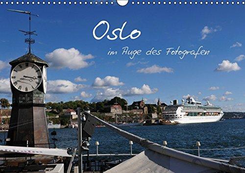 Oslo im Auge des Fotografen (Wandkalender 2019 DIN A3 quer): Oslo, zwischen Bergen und Meer (Monatskalender, 14 Seiten ) (CALVENDO Orte)