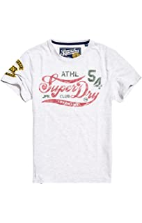 Superdry Herren Pullunder Worldwide Tickettype Splat Tee