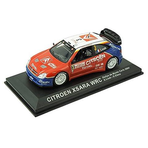 Voiture Rallye Citroen 1 43 - Voiture miniature Citroën Xsara WRC - Rallye