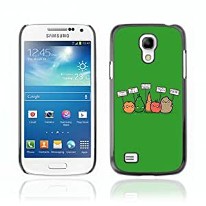 YOYOSHOP [Funny Anti Vegan Vegetables Illustration] Samsung Galaxy S4 Mini Etui Housse Coque