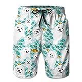 artyly Fisch und Weiß Baby Sommer Anzug Herren Strandhose Mit Taschen, Größe M