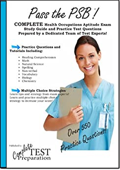 Pass the PSB/HOAE - Complete Health Occupations Aptitude
