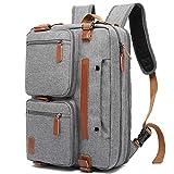 17.3 Zoll (3 IN 1) Notebook Rucksack, Schultertasche Aktentasche Reisetasche Laptoptasche