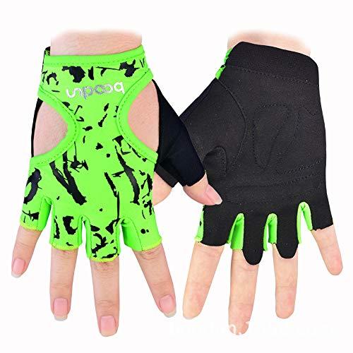 Para hombres mujeres Grandes guantes gimnasio ventilación