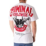 Mafia & Crime T-Shirt Bad Energy Größe: XL Farbe: Weiß