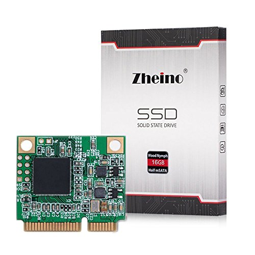 Zheino Msata Mini (Half Size) SATAIII SSD 16gb disco a stato solido per il computer portatile