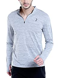 Campus Sutra Men's Active Wear Dry Fit Sports Jersey T-shirt
