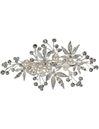 Vogue Hair Accessories Silver Color Copper Base Hair Pin For Women
