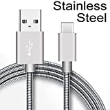 Loyal EMPLE Best Quality Zink Alloy Cable for iPhone Charging Cable 1.0 Meter 8 Pin Lightning Fast Charging Cable for iPhone 7/6/6s/5/5s/Ipad - Silver (Type c Zinc)