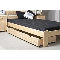 Suchergebnis Auf Amazon De Fur Mit Schubladen Holzbetten Betten