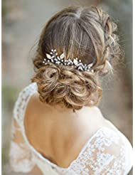 Aukmla épingles à cheveux pour femme on fête de mariage ou décontracté ()