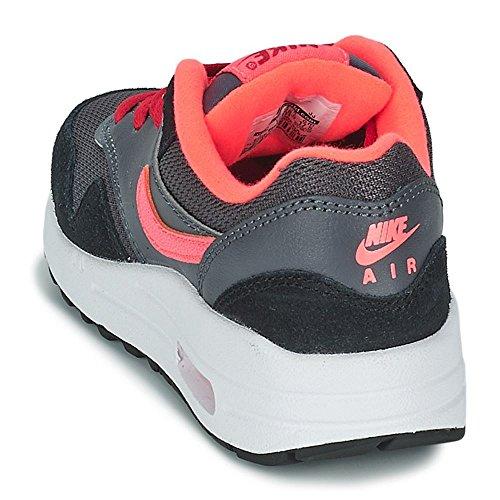 Nike Air Max 1 (Gs), Nike Air Max 1 GS black cool grey white 555766 043 homme Gris Noir