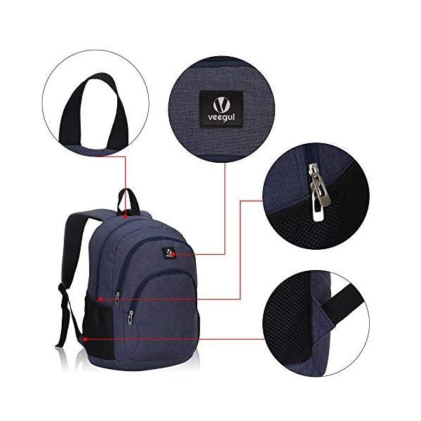 51pBBieFoLL. SS600  - Veevan School Bags Mochila para Niños Mochila para Universitarios Mochila para Portátil para Niñas Impresión-2