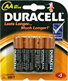 Duracell Alkaline Batterien AA (LR6/MN1500) Much Longer 4er Pack