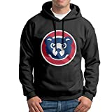 CJUNP Men's Chicago Cubs 2016 World Series Champions Workout Hoodies