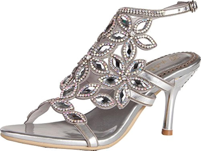 YMFIE Peep-Toe Sandalias Planas para Mujer de Verano de Gamuza Simple Moda Antideslizante Zapatillas de Playa... -