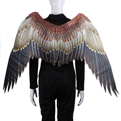 Barbedingrose costume da big wings, ballo in costume per adulti halloween mardi gras carnival