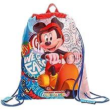 Mickey Mouse-4023761 Bolsa de merienda,, 34 cm (Joumma 4023761)
