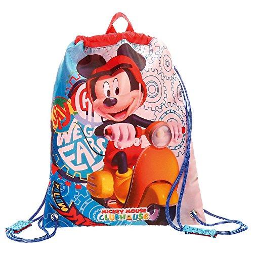 Mickey Mouse-4023761 Bolsa de merienda,, 34 cm (Joumma 4023761