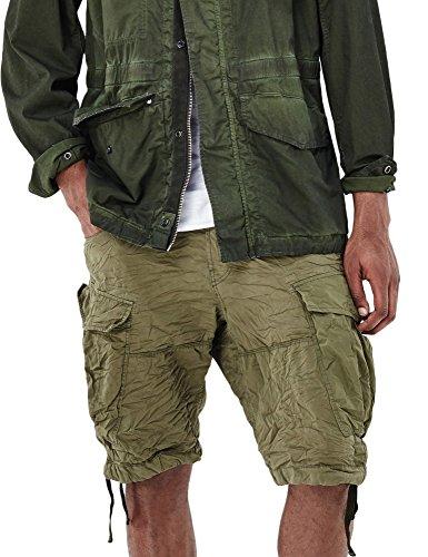 G-Star Men's Rovic Loose Men's Bermuda Shorts In Khaki In Size 31 Green