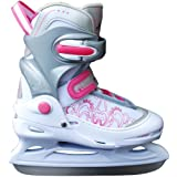 COX SWAIN Adjustable Kids Semi-Soft Ice Skate Laura Size XS up to L