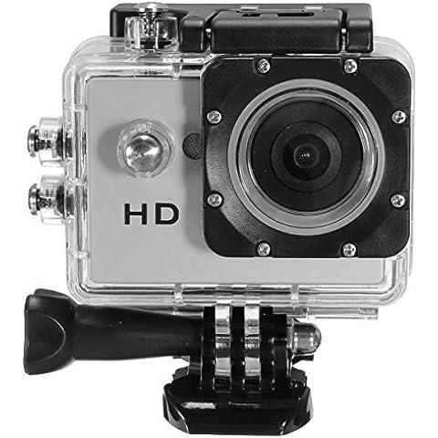 MOHOO Camera Sport SJ4000 HD 720P Mini DV Sport azione del casco Videocamera Fotocamera Impermeabile,Impermeabile sino a 30m di Profondità