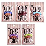 #8: Chip Chops Dog Treats Combo (Multi Flavor, Pack of 5)