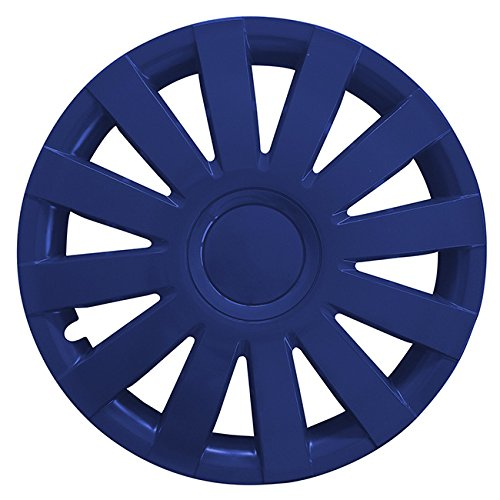 (Größe wählbar) 14 Zoll Radkappen / Radzierblenden AGAT Blau passend für fast alle Fahrzeugtypen – universal