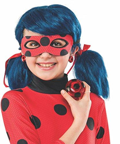 Ladybug - Set Yo-Yo & pendientes infantil, Talla única (Rubie'S Spain 32930)