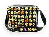 Oryginale Umhängetasche Schultasche Sporttasche Messenger Laptop Bag 20 Varianten Emoji