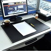 Cuero de la PU Vade Hensych y amigo 60,96 cm x 40,64 cm para escritorio y Protector de ratón para ordenadores de sobremesa y portátiles
