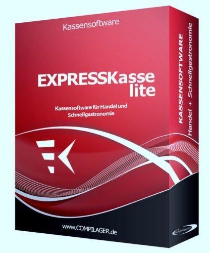 WINDOWS Kassensoftware EXPRESSKASSE LITE X für Einzelhandel: Kiosk, Imbiss, Bar GDPdU KONFORM