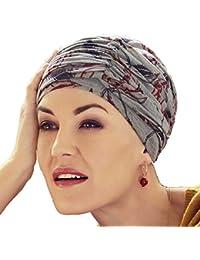 Christine Headwear Turban chimiothérapie Karma composé d un Bonnet + Un  Bandeau Amovible en Bambou 5807c1555c3