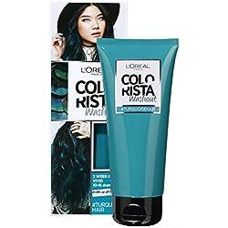 L'Oréal Paris Colorista Washout 2 Semaines Couleur Temporaire pour Cheveux Turquoise