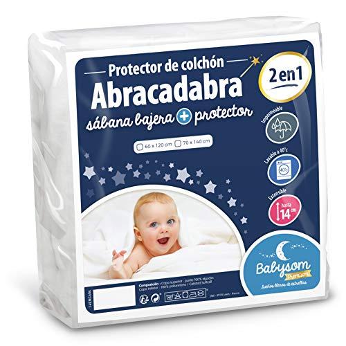 Babysom   Protector Colchón Cuna Bebé «2 1»