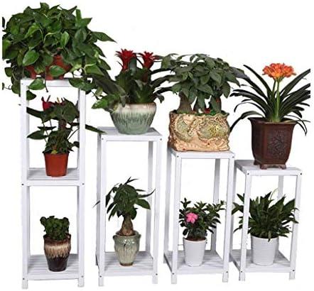 XQY Porte-Fleurs intérieur, intérieur, intérieur, Support à Fleurs Plante Blanche en Bois Salon intérieur Présentoir de Mariage en Plein air Étagère en Pot de Fleur Suspendue , Support de Fleur de ménage 4c32eb
