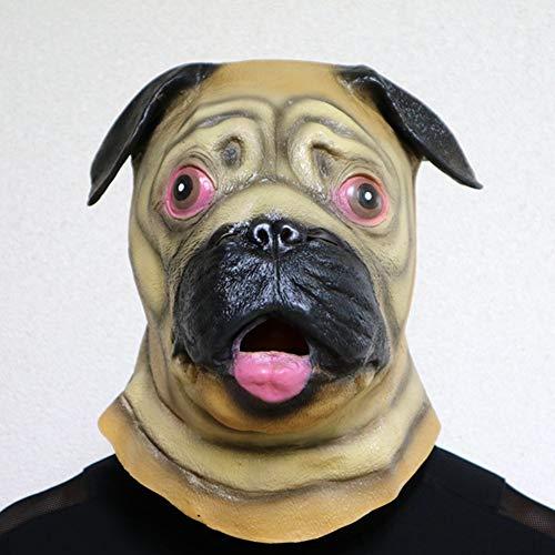 tzenharz-Masken-Mops-Kopfbedeckung Shar Pei Hauptkarikatur-Nette Masken-Partei-Partei-spezielle Produkte ()