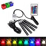 RGB 4x9 LED Auto Innenbeleuchtung mit Fernbedienung Innendekoration Licht Wunderschön Weihnachten Geschenk