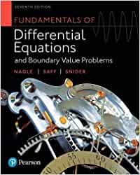Differential equations nagle