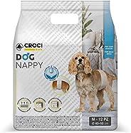 Croci Fascia Igienica Cani Maschi Dog Nappy 12 Pz M
