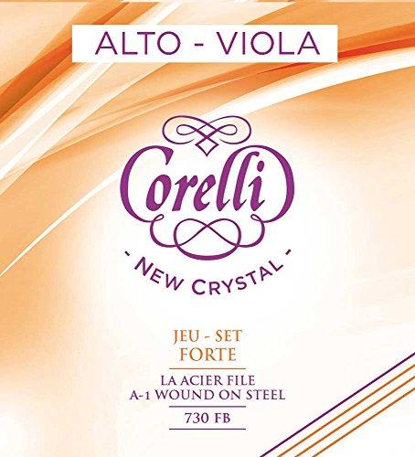Corelli Viola NEW CRYSTAL 730FB (con cuerda-A 731FB Steel core) forte
