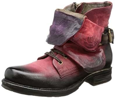 airstep 717204 boots biker femme rouge rot novello ebano uva 8561 39 eu. Black Bedroom Furniture Sets. Home Design Ideas