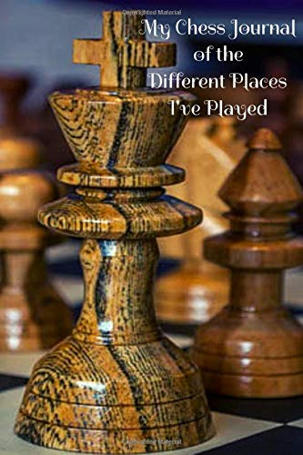 My Chess Journal of the Different Places I've Played White Square Clock