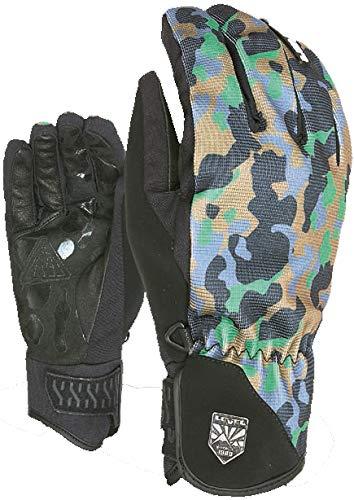 Pipe Snowboard Handschuhe (Level Suburban Camo Snowboard Handschuh Pipe, 8.5)