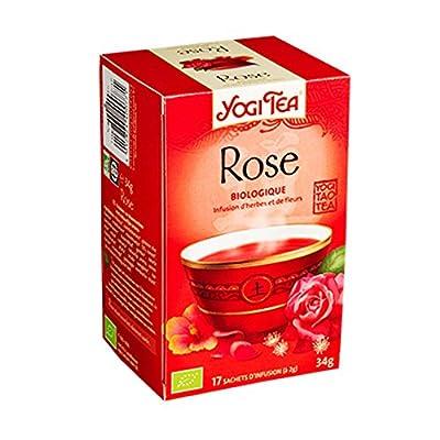 Yogi tea Thé Rose Bio 17 Sachets 34 g